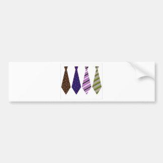 Der Vatertags-Hals-Krawatten-Mod-stilvolles nobles Auto Sticker