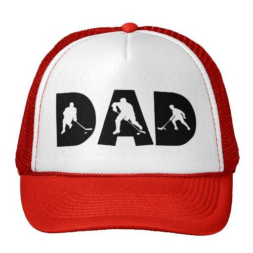 Der Vatertags-Hockey-Vati Baseball Cap