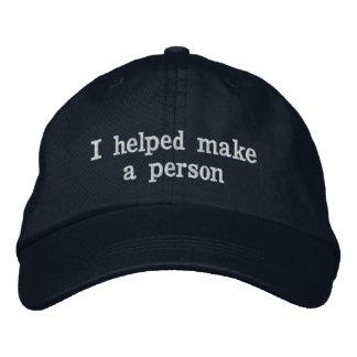 Der Vatertags-Hut für Vati Bestickte Caps