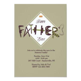Der Vatertags-Ikonen-Einladung 12,7 X 17,8 Cm Einladungskarte