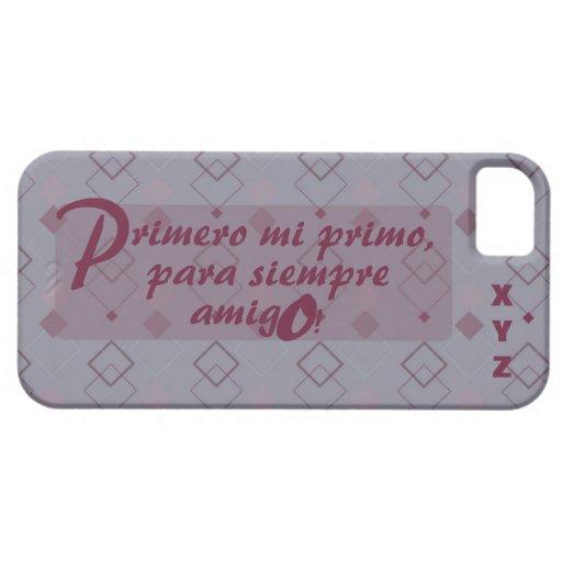 Der Vatertags-Initialen-Cousin Primo Schutzhülle Fürs iPhone 5
