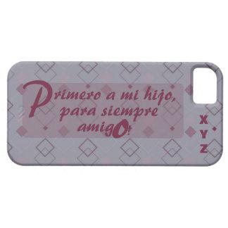 Der Vatertags-Initialen-Sohn Hijo iPhone 5 Hüllen