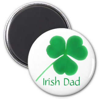 Der Vatertags-irischer Vati-Magnet Runder Magnet 5,1 Cm