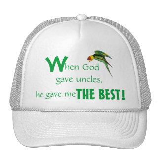 Der Vatertags-Kappen-Onkel