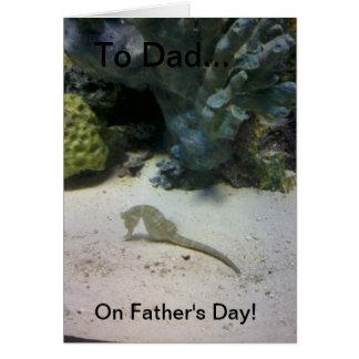 Der Vatertags-Karte