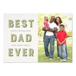 Der Vatertags-Karte Festzelt-- Moos 12,7 X 17,8 Cm Einladungskarte