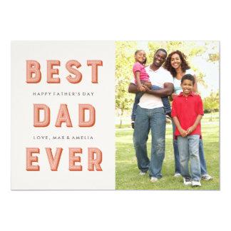 Der Vatertags-Karte Festzelt-- Rost 12,7 X 17,8 Cm Einladungskarte
