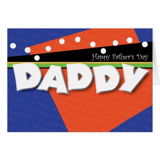 Der Vatertags-Karte Foto-Schablonen- Karte