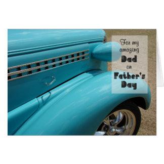 Der Vatertags-Karte für Vati - Auto-Spaß Grußkarte