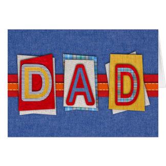 Der Vatertags-Karte Grußkarte