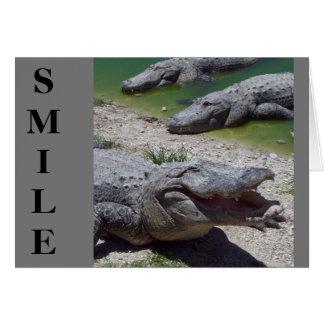 Der Vatertags-Karte Lächeln- Grußkarte