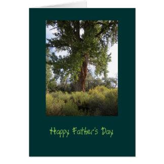Der Vatertags-Karte Pappel-Sommer- Karte