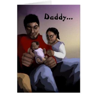 Der Vatertags-Karte Schmeichelei- Grußkarte