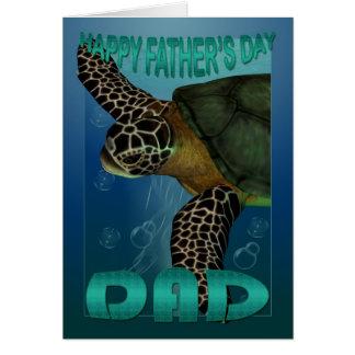 Der Vatertags-Karten-Fischsammlung Grußkarte