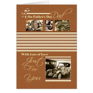 Der Vatertags-Karten-Klassiker-Autos