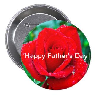 Der Vatertags-Knopf Runder Button 7,6 Cm