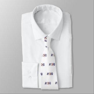 Der Vatertags-Krawatte des Vati-#1 Personalisierte Krawatte