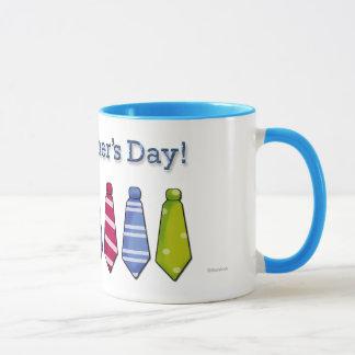 Der Vatertags-Krawatten-Tasse Tasse