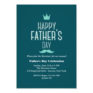 Der Vatertags-Kronen-Einladung 12,7 X 17,8 Cm Einladungskarte