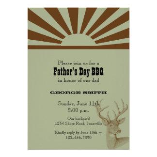 Der Vatertags-Party Einladung