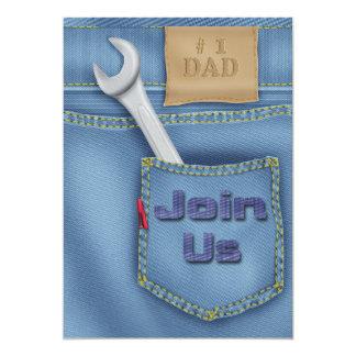 Der Vatertags-Party Einladungen Werkzeug-