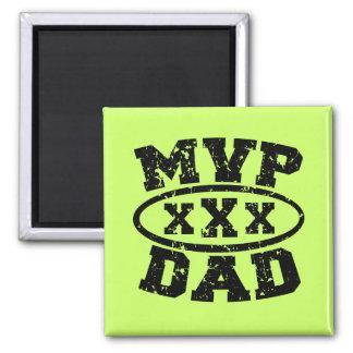 Der Vatertags-Produkte MVP-Vati- Quadratischer Magnet