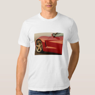 Der Vatertags-Rot Korvette Shirts