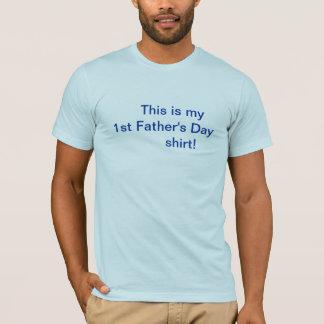Der Vatertags-Shirt/zuerst T-Shirt