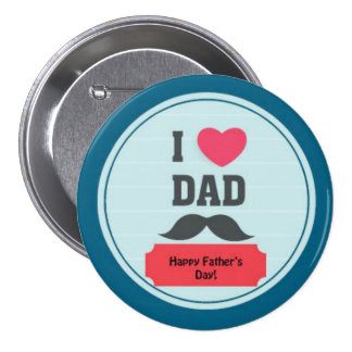 Der Vatertags-spezielles Button für Vati