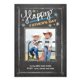 Der Vatertags-Sterne 12,7 X 17,8 Cm Einladungskarte