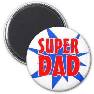 Der Vatertags-Supervati-Magnet Runder Magnet 5,7 Cm