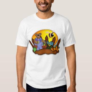 Der Vatertags-T-Shirt, im Garten arbeitenbär Shirts