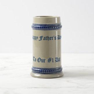 Der Vatertags-Tasse Bierkrug