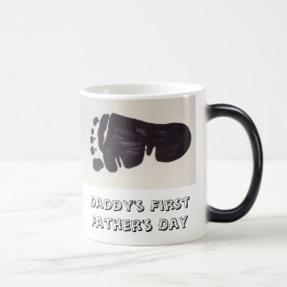 Der Vatertags-Tasse des Vatis erste Verwandlungstasse