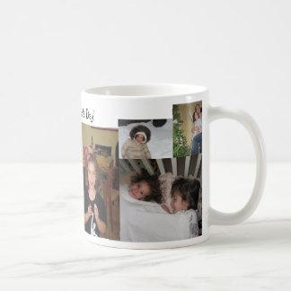 Der Vatertags-Tasse Foto-Collagen-