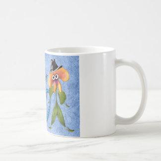 Der Vatertags-Tasse mit Blume in Blatt-Anzug VATI