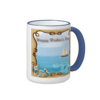Der Vatertags-Tassen Segelboot-