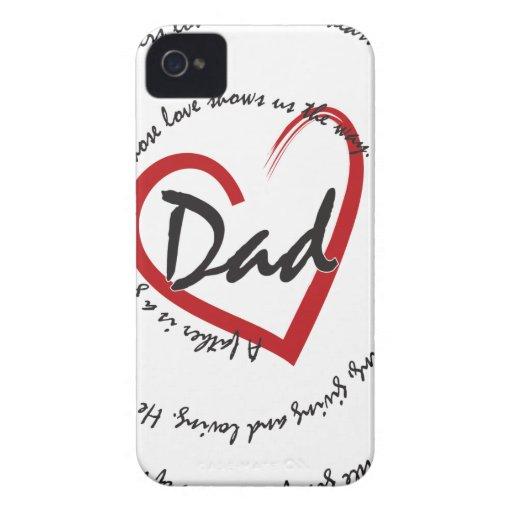 Der Vatertags-Vati iPhone 4 Cover