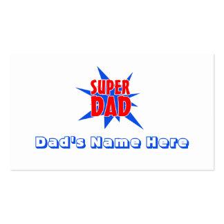 Der Vatertags-Visitenkarten Supervati-lustige Visitenkarten