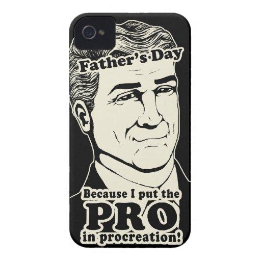 Der Vatertags-Zeugung iPhone 4 Cover