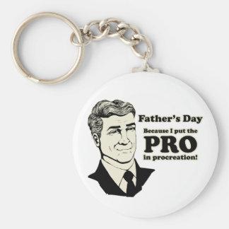 Der Vatertags-Zeugung Schlüsselbänder