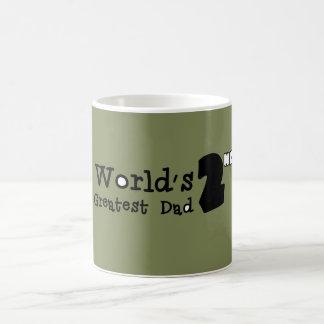 Der Vati-der Welt 2. bestste der Vatertags-Tasse Kaffeetasse