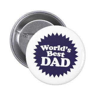 Der Vati-der Welt der beste Vatertag Buttons