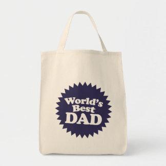 Der Vati-der Welt der beste Vatertag Einkaufstasche
