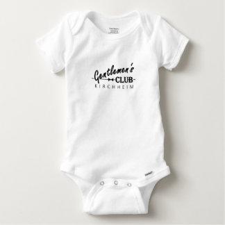 """Der Verein-Babys Thingy """"Kirchheim """" der Herren Baby Strampler"""