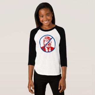 """Der Verlierer-Trumpf-T - Shirt des Mädchens: """"KEIN"""