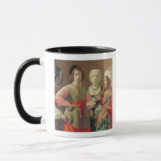 Der Vermögens-Erzähler, c.1630 (Öl auf Leinwand) Tasse