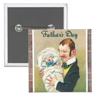 Der viktorianische Vatertag Anstecknadel