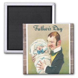 Der viktorianische Vatertag Magnets