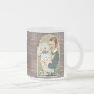 Der viktorianische Vatertag Kaffee Tasse
